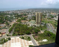 Togo, Africa, Lome capital panorama