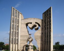 Togo, Africa, Independence monument