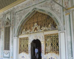Topkapi Palace, Istanbul, Turkey, Great architectural detail door