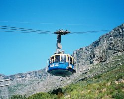 Touristic Attractions, Cape Town, South Africa, Table Mountain cable car
