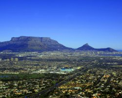 Touristic Attractions, Cape Town, South Africa, Table Mountain panorama