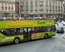 Bus Tour Holiday, Rome, Italy, Bus presentation