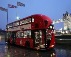 Bus Tour Holiday, London, UK, Upperdeck bus new