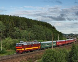 Railroad Holiday, Trans Siberian Train, Russia, Railway view