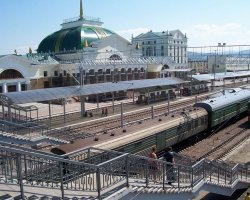 Railroad Holiday, Trans Siberian Railway, One of many stations