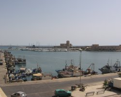 Trapani, Italy, City harbor