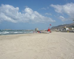 Trapani, Italy, City beach