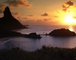 Tropical Holiday, Brasil, Fernando de Noronha, Sunset