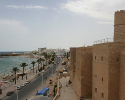 Tunisia, Africa, Sousse fortifications
