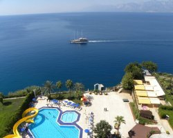 Turkey Children Holiday, Antalya, Turkey, Resort aerial view