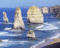 The Twelve Apostles , Australia, Stack after collaps