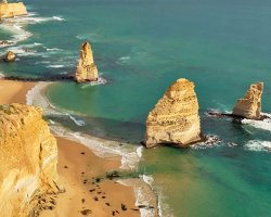 The Twelve Apostles , Australia, Apostoles upside view