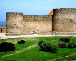 Ukraine Beautiful Places, Belgorod Dnestrovsky, Ukraine, Medieval citadel 04