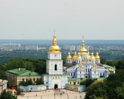 Ukraine Beautiful Places, Kiev, Ukraine, St Michael Cathedral 03