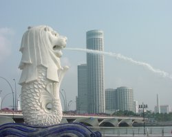 Unforgettable Holiday, Singapore, Asia, Merlion