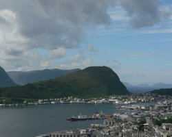 Unforgettable Holiday, Norway, Europe, Alesund port