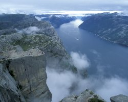 Unforgettable Holiday, Norway, Europe, Preikestolen top view