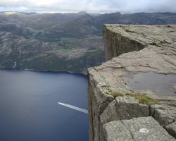 Unforgettable Holiday, Norway, Europe, Preikestolen panorama