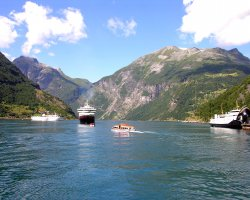 Unforgettable Holiday, Norway, Europe, Geirangerfjord overview