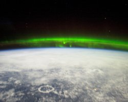 Unforgettable Holiday, Aurora Borealis, Seen from the International Space Station