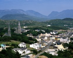 Galway, Ireland, Europe, Clifden County overview