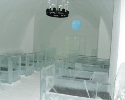 Ice Hotel, Sweden, Europe, Chapel