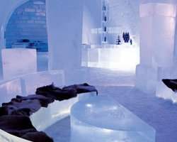 Ice Hotel, Sweden, Europe, Loby
