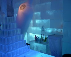 Ice Hotel, Sweden, Europe, Bar