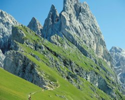 Val Gardena, Italy, Trekking sites