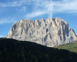 Val Gardena, Italy, Summit view