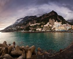 Valentines Day Holiday, Amalfi Coast, Italy, Overview scene