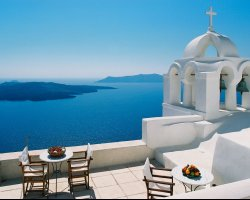 Valentines Day Holiday, Santorini, Greece, Beautiful scenery