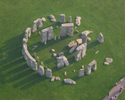 Valuable Monuments, Wiltshire, UK, Stonehenge aerial view