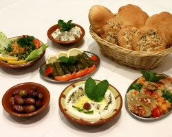 Vegetarian Tourists Destinations, Lebanese and Middle Eastern vegan cuisine