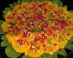 Vegetarian Tourists Destinations, Moroccan Orange Salad