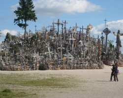 Vilnius, Lithuania, Europe, Hill of Crosses