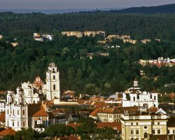 Vilnius, Lithuania, Europe, Green city