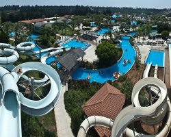 Water Park Holiday, Watermania Fasouri Water Park, Cyprus, Panoramic view
