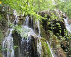 Waterfall Holiday, Romania, Europe, Beusnita Waterfall overview