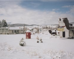 Weirdest Hotels Holiday, Dog Bark Park Inn,Cottonwood, Idaho, Winter scenery