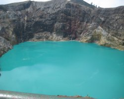 Nature Weirdness, Flores Island, Indonesia, Crate Lake Kelimutu blue