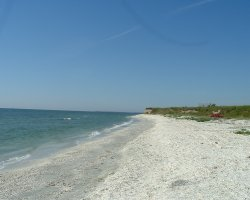 Romantic Wild Beaches Holiday, Corbu, Romania, Remote beach spot