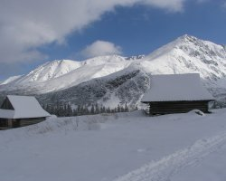 Tatra Mountains, Europe, Under the snow