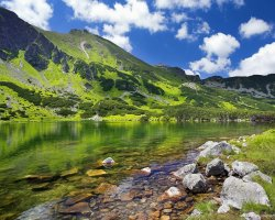 Tatra Mountains, Europe, Lake overview