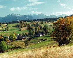 Tatra Mountains, Europe, The countryside near Zakopane