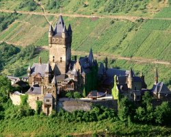 Mosel Valley, Germany, Europe, Reichsburg Castle