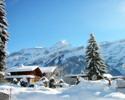 Winter Holiday, Mountains with snow