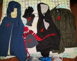Winter Holiday, Clothes for winter