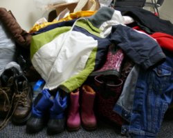 Winter Holiday, Clothes for children