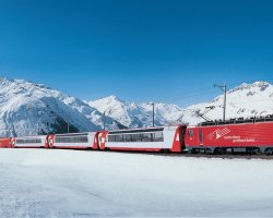 Safe Winter Holiday, Train winter travel